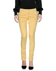 Annie P. Casual Pants Yellow