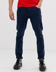 Weekday Friday Skinny Jeans In Navy