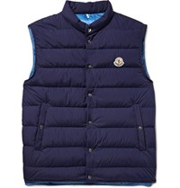 Moncler Febe Quilted Shell Down Gilet Navy