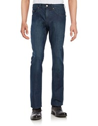 Hugo Boss Straight Leg Jeans Navy Denim
