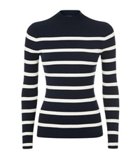 Polo Ralph Lauren Mary Lawrence Striped Sweater