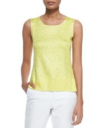 Berek Sweet Thing Crinkle Tank Lime Petite Green