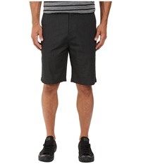 Billabong Carter Stretch Chino Shorts Black Heather Men's Shorts