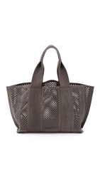 Pedro Garcia Perforated Castoro Tote Fox