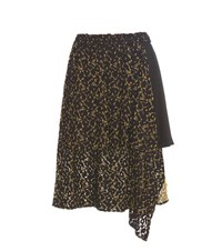 Public School Hana Asymmetrical Skirt Black