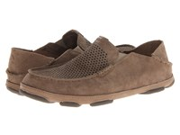 Olukai Moloa Kohana Clay Clay Men's Slip On Shoes Brown