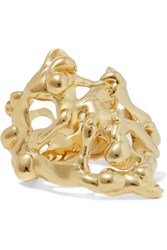 Annelise Michelson Long Drops Gold Plated Ring