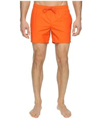 Lacoste Taffeta Swimming Trunk Pumpkin Pumpkin Men's Swimwear Orange