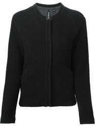 Woolrich Raglan Sleeve Straight Fit Jacket Black
