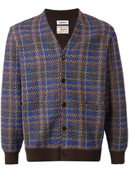 Coohem Madras Tech Tweed Cardigan 60
