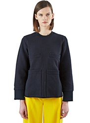 Acne Studios Acadia Pocket Fleece Sweater Black
