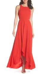 Ali And Jay Bohemian Rhapsody Maxi Dress Red