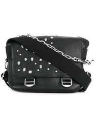 Zadig And Voltaire Ready Made Xs Clous Bag Black