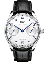 Iwc Iw500705 Portugieser Leather Watch