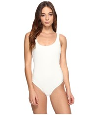 Billabong Line Up One Piece Seashell Women's Swimsuits One Piece White