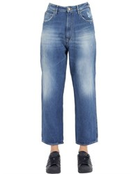 Cycle Stretch Cotton Denim Boyfriend Jeans