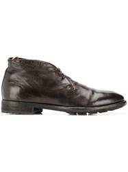Officine Creative Princeton Chukka Boots Brown