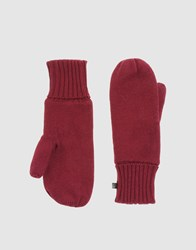 Cheap Monday Accessories Gloves Women Garnet