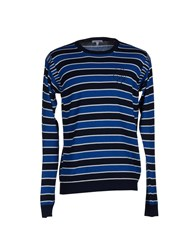 Gianfranco Ferre Gf Ferre' Knitwear Jumpers Men Dark Blue