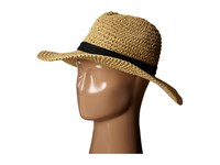 The North Face Market Sun Brimmer Tnf Black Natural Straw Traditional Hats Beige