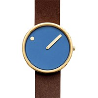 Rosendahl Picto Leather Blue Brown