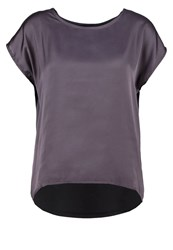 More And More Basic Tshirt Cloudy Grey