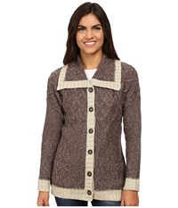 Royal Robbins Elsa Cardi Mole Women's Sweater Brown