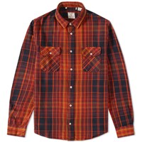 Levi's Vintage Clothing Shorthorn Shirt Red