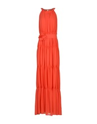 X's Milano Long Dresses Red