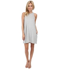 Alternative Apparel Modal Halter Dress Heather Grey Women's Dress Gray