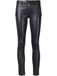 The Row 'Smashton' Skinny Trousers Black