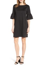 Halogenr Women's Halogen Ruffle Sleeve Shift Dress