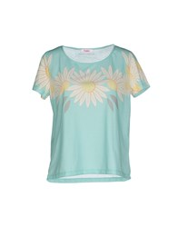 Blugirl Folies Topwear T Shirts Women Light Green