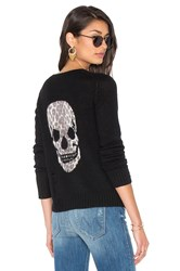 360 Sweater Raj Cashmere Skull Black
