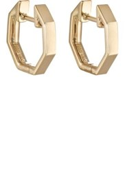 Finn Women's Octagon Huggie Hoops No Color