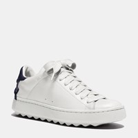 Coach Lo Top Sneaker White Midnight Navy