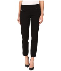 Fdj French Dressing Jeans Petite D Lux Denim Pull On Slim Jegging In Ebony Ebony Women's Black