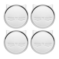 Kate Spade 'Silver Wit' Cat Coasters Set Of 4
