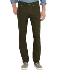 Levi's 511 Slim Fit Commuter Jeans Presidio Green