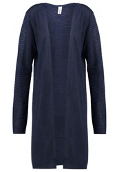 Soyaconcept Niaka Cardigan Midnight Blue Melange Dark Blue