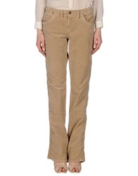 Jaggy Casual Pants Sand