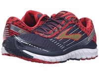 Brooks Ghost 9 Peacoat Navy True Red Gold Women's Running Shoes Black