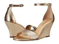 Lilly Pulitzer Bridgette Wedge Gold Metallic Women's Wedge Shoes