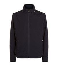 Paul And Shark Typhoon Hooded Jacket Male Navy