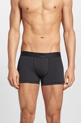 Levi's '200 Neats Star' Stretch Cotton Trunks Assorted 2 Pack Black