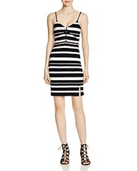 French Connection Chantilly Striped Dress 100 Bloomingdale's Exclusive Nocturnal Summer White