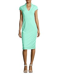 Alexia Admor Cap Sleeve Shealth Dress Mint Green