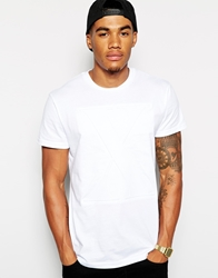 Systvm T Shirt With Embossed X White