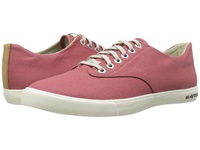 Seavees 08 63 Hermosa Plimsoll Banyan Red Ochre Men's Shoes