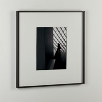 Cb2 Gallery Carbon 11X14 Picture Frame